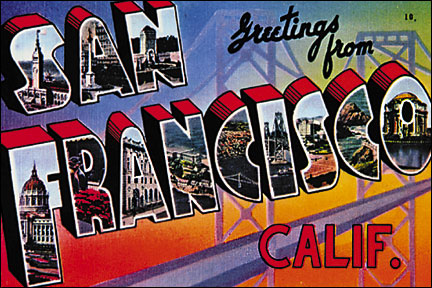 Sf1 greetings from san francisco quantity postcards sf1 greetings from san francisco m4hsunfo